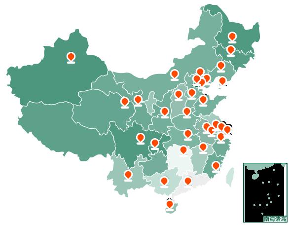 植保销售网络地图配图